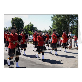 "RCMP ""H"" Division Pipes and Drums Card"