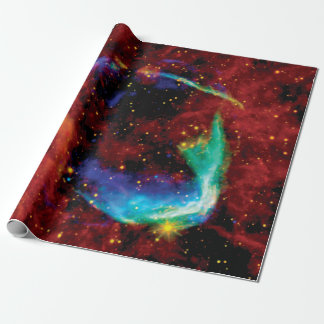 RCW 86 Supernova Remnant - NASA Hubble Space Photo Wrapping Paper