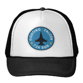 RDAF Patch Esk 726 Squadron F 16 Fighting Falcon P Trucker Hat