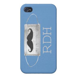 RDH Moustache iPhone 4/4S case