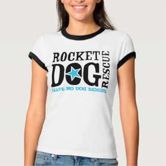 "RDR ""Leave No Dog Behind"" (blk/blue) T-Shirt"