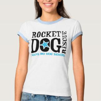 """RDR """"Leave No Dog Behind"""" (blk/blue) Tees"""