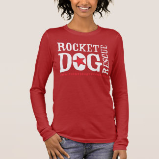 RDR Logo (red/wht) Long Sleeve T-Shirt