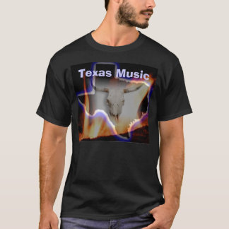 RDR Texas Music Black T-Shirt