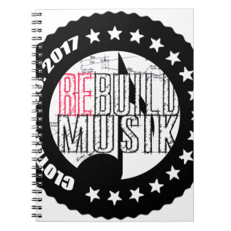 Re-Build Clothing Co. Notebooks