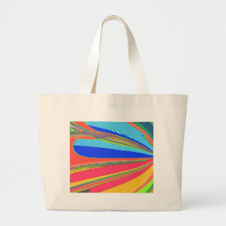 Re-Created Archangel Wing by Robert S. Lee Large Tote Bag