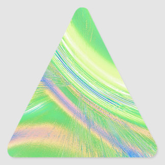 Re-Created Aurora Triangle Sticker