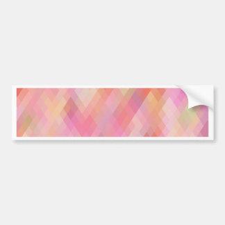 Re-Created Braids Bumper Sticker