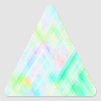 Re-Created Braids Triangle Sticker