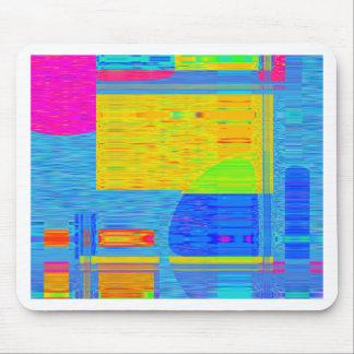 Re-Created Building Blocks Mousepad