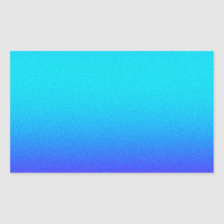 Re-Created Color Field Rectangular Sticker