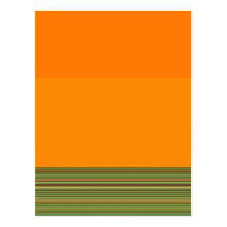 Re-Created Color Field & Stripes by Robert S. Lee Postcard