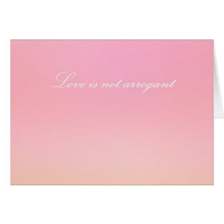 Re-Created Color Field with LOVE by Robert S. Lee Greeting Card