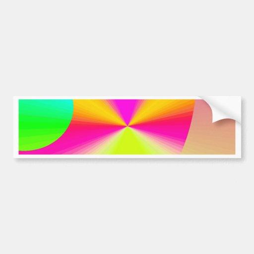 Re-Created DOTS Bumper Sticker