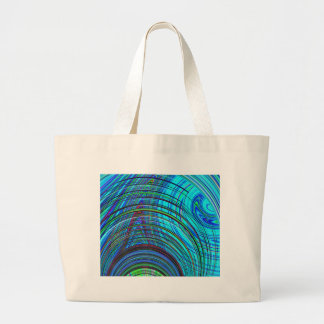Re-Created Hurricane by Robert S. Lee Large Tote Bag