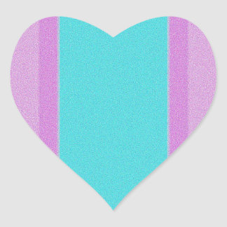 Re-Created Interference ONE Heart Sticker