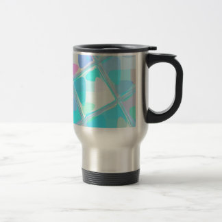 Re-Created Mirrored SQ by Robert S. Lee Travel Mug