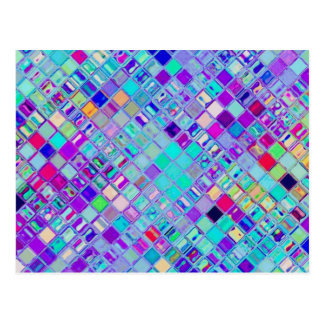 Re-Created Mosaic Post Card