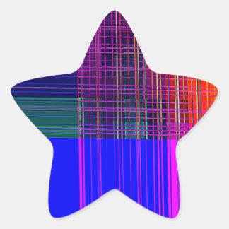 Re-Created Northern Cross Star Sticker