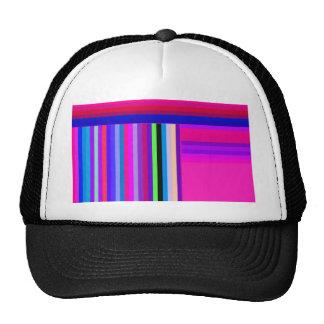 Re-Created Parquet Mesh Hats