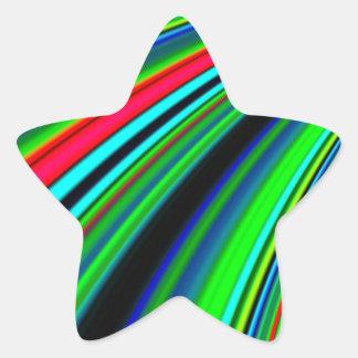 Re-Created Slide Star Sticker