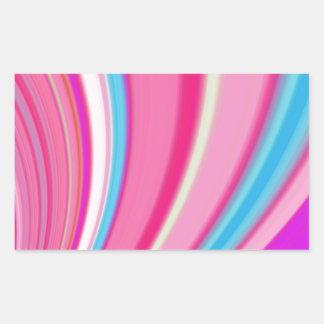Re-Created Slide Rectangular Stickers