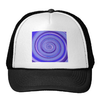 Re-Created Spin Painting Mesh Hat