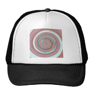 Re-Created Spin Painting Hat