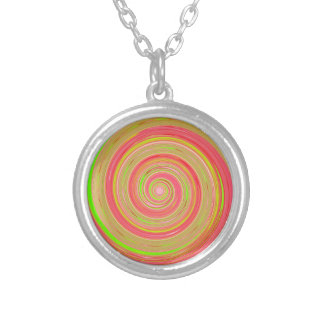 Re-Created Spin Painting Pendants