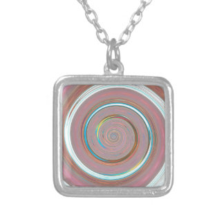 Re-Created Spin Painting Custom Necklace