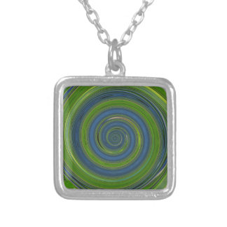 Re-Created Spin Painting Personalized Necklace