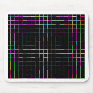Re-Created Squares Mouse Pad