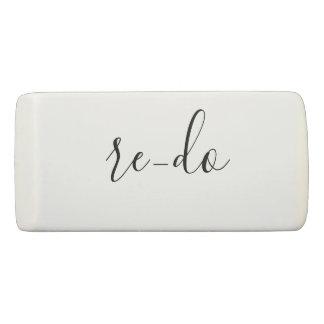 Re-do Personalize Eraser