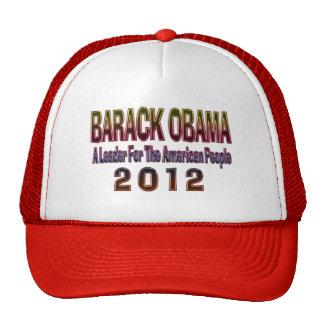 Re-elect Barack Obama 2012 Cap