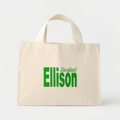 Re-elect Keith Ellison Congress 2012 Minnesota Canvas Bags