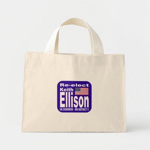 Re-elect Keith Ellison Congress 2012 Minnesota Tote Bag