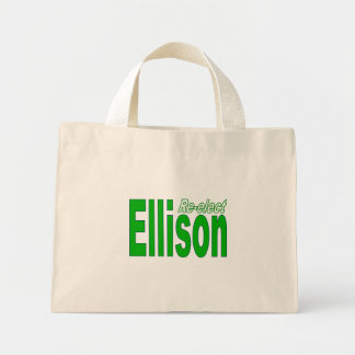 Re-elect Keith Ellison Congress 2012 Minnesota Canvas Bags
