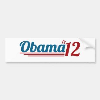 Re-Elect Obama 12 Bumper Sticker