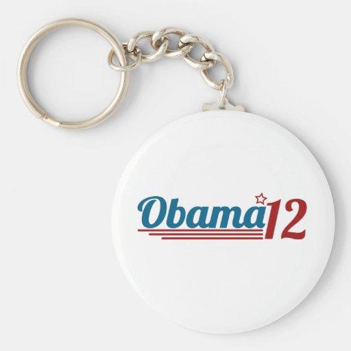 Re-Elect Obama '12 Keychain