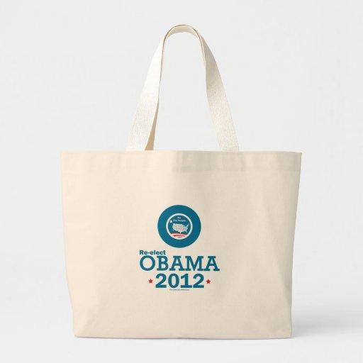 Re-elect Obama 2012 Bag