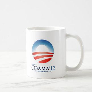 Re-Elect Obama 2012 Basic White Mug