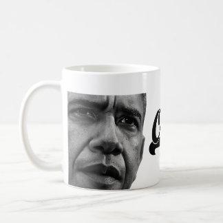 Re-elect Obama 2012 Mug (navy)
