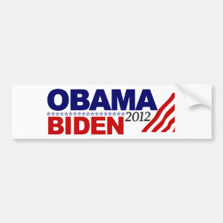 Re-Elect Obama Biden '12 Bumper Sticker
