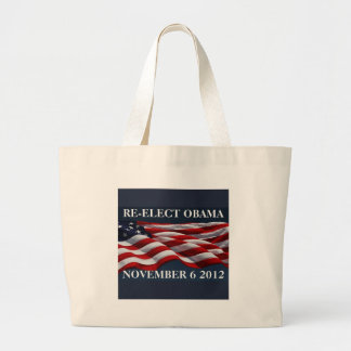 RE-ELECT OBAMA November 6 2012 Bag