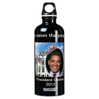 Re-elect President Obama 2012 SIGG Traveller 0.6L Water Bottle
