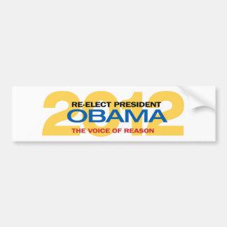 Re-elect President Obama Bumper Sticker