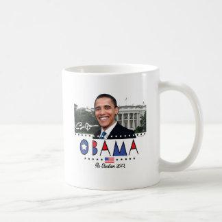 Re-Elect President Obama Election 2012 Gear Coffee Mug