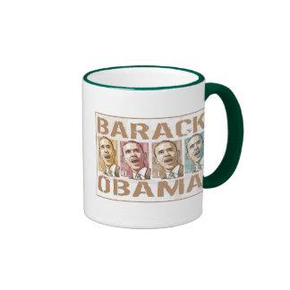 Re-Elect President Obama Election 2012 Ringer Mug
