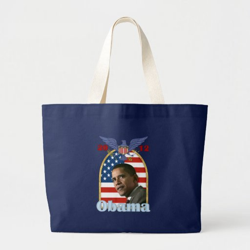 Re-Election Barack Obama for 2012 Tote Bags