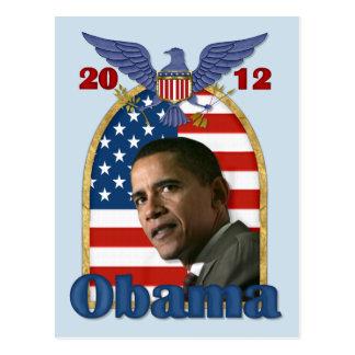 Re-Election Barack Obama for 2012 Postcard